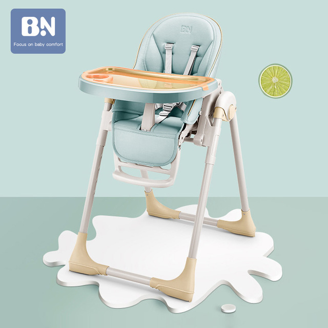 Baby Seat Authentic Portable Baby Dinner Table Multifunction Adjustable Folding High Chairs For Children Mother Assistant