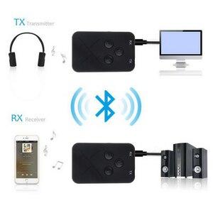 Image 2 - Портативный Bluetooth 4,2 передатчик беспроводной аудио приемник адаптер Мини 3,5 мм ТВ приемник стерео аудио музыкальный адаптер для динамика