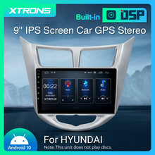 XTRONS 9'' IPS Android 10 Auto Stereo Radio Player für Hyundai i25 ich 25 Verna Solaris Accent Grand Avega Carplay DSP GPS KEINE DVD