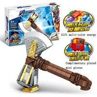 Toys For Children Superhero Storm Tomahawk Model Kit Compatible Legoing Assembled Educational Building Blocks Brick Kids New O26