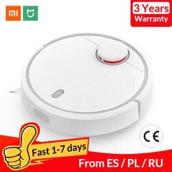 Aspiradora Robot Mi versión Global Xiaomi para el hogar esterilizar el polvo de barrido automático con aplicación Wifi inteligente