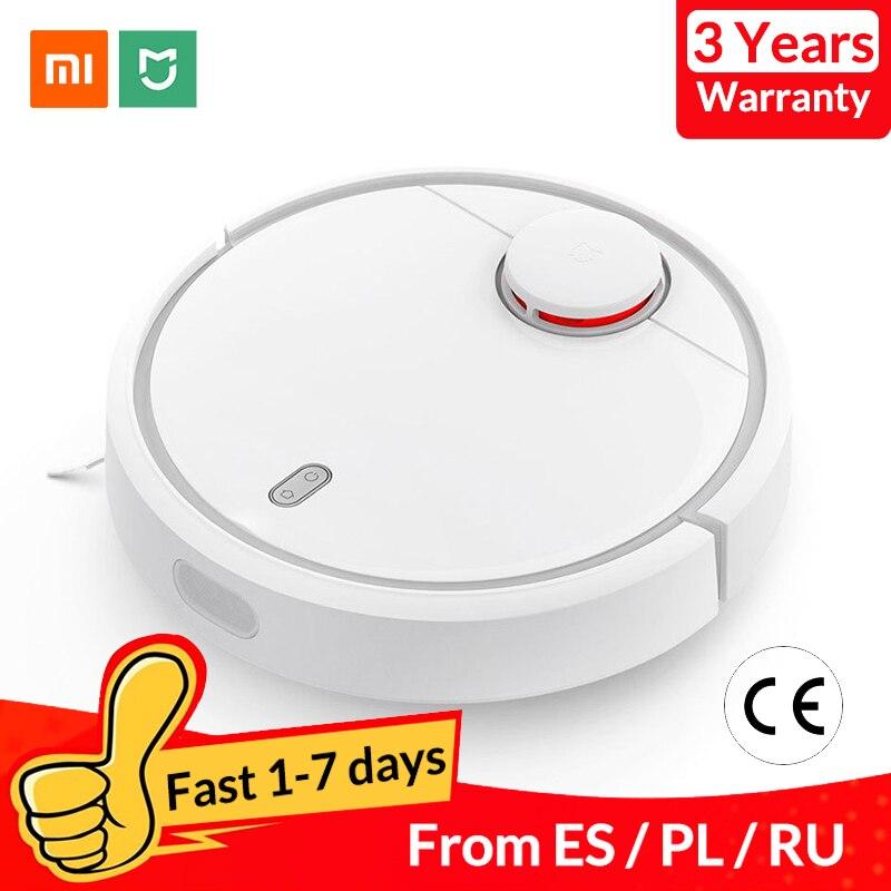 Versão global xiaomi mi robô aspirador de pó para casa automático varrendo poeira esterilizar inteligente planejado wifi app controle remoto