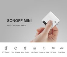 1/10Pieces Sonoff MINI DIY Smart Switch Small Ewelink Remote Control Wifi Switch Support An External Work with Alexa Google Home