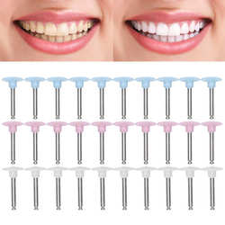 10pcs Dental Polishing Burs Low Speed Dental Grinding Polisher Burs Drill Bits Set Oral Care Teeth Whitening Tool Dentist Supply