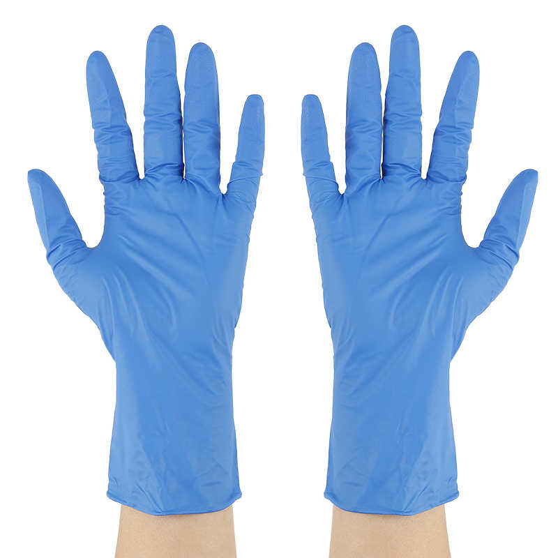 Multi-Purpose Vinyl Gloves Pack of 50 Gloves Latex-Free Work Gloves for Cooking,Cleaning Disposable Clear Gloves Small
