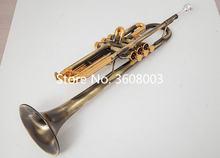 Античная Медная Плоская Регулируемая труба в форме капли инструмент