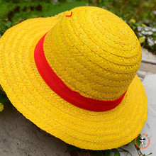 Cosplay Hats Straw-Hat Anime One-Piece Luffy Unisex-Caps Cartoon-Cap Japanese Cute Boater