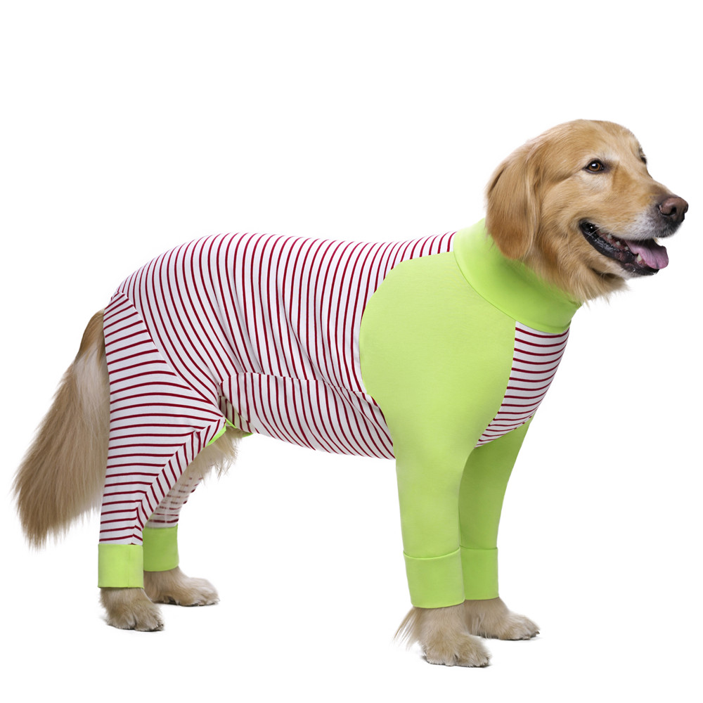 Striped Large dog clothes (6)
