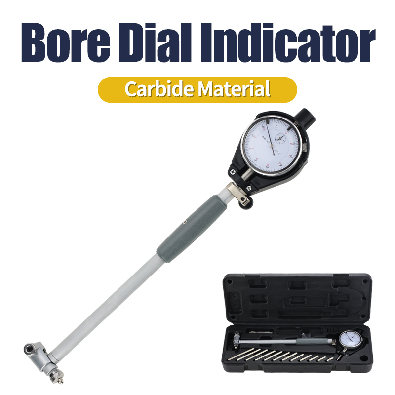 Measuring Rod18-35mm 35-50mm 50-160mm/0.01mm Dial Bore Gauge Center Ring Dial Indicator Micrometer Gauges Measuring Tools