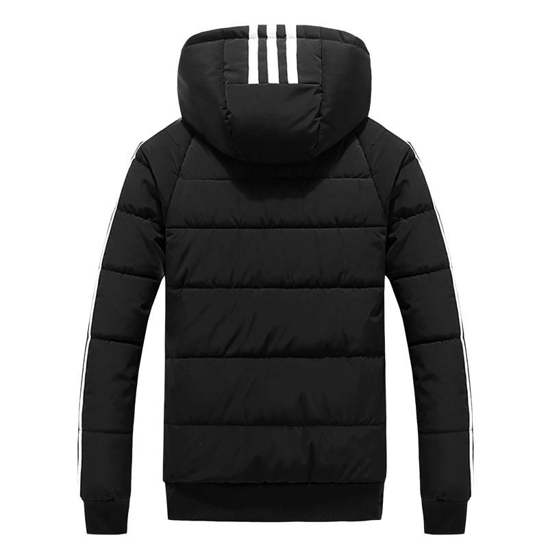 New Style Winter Cotton-padded Clothes MEN'S Cotton Clothes Coat Korean-style Short Hooded Down Feather Cotton-padded Jacket