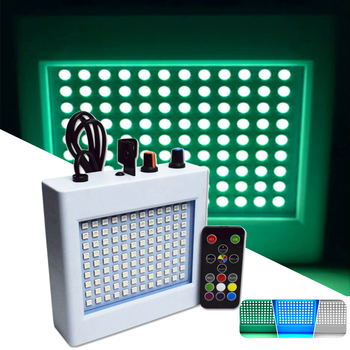 108 LED Mixed Flashing Stage Lights Remote Sound Activated Disco for Festival Parties Wedding KTV Strobe
