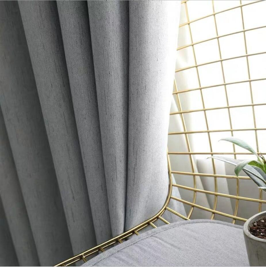 Blackout Solid Curtains For The Living Room Bedroom Curtain Drapes On The Window Curtains For The Kitchen Door Children Kid Grey