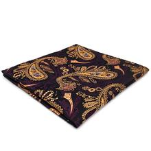 FH10 Multicolor Paisley Pocket Square Designer Party Accessory Handkerchief