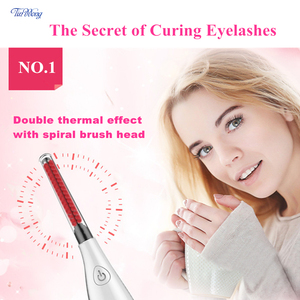 Image 3 - Tinwong Electric Eyelash Curler USB Rechargeable Ceramic Inner Core Heated Long Lasting