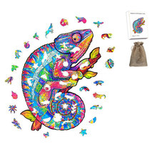 Unique Wooden Animal Jigsaw Puzzles Mysterious Puzzle Gift 3D Puzzle Gift For Adults Fabulous Children Toy Animal Puzzle Gifts