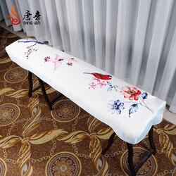 Guzheng غطاء غطاء غبار Guzheng مجموعة القماش النمط الصيني الأنيق العالمي Guzheng غطاء