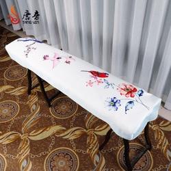Guzheng Cover Penutup Debu Guzheng Set Kain Gaya Cina Elegan Universal Guzheng Cover