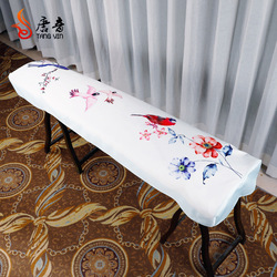 Guzheng kapak tozluk Guzheng Set kumaş çin tarzı zarif evrensel Guzheng kapak