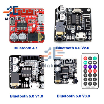 Bluetooth 4.1 5.0 VHM-314 Bluetooth Audio Receiver Board mp3 Lossless Decoder Board Stereo Music Module for Car Speaker image