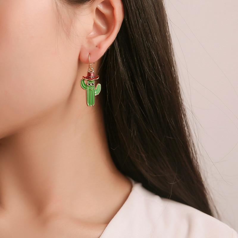 Cartoon Bell Christmas Gift Tassel Earrings Snowflake Ribbon Elk Cute Earings Fashion Jewelry
