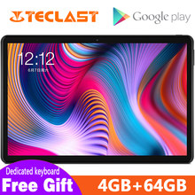 Nieuwste 2.5D Tabletten Teclast T30 Andriod 9.0 tablet PC 10.1inch 4GB RAM 64GB ROM 4G Telefoon call 8000mAh Dual Camera GPS Type-C(China)