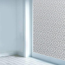 Funlife Window Privacy Film Vinyl Self-adhesive Glass Sticker Non-Adhesives Clings Static Cling decor Decal