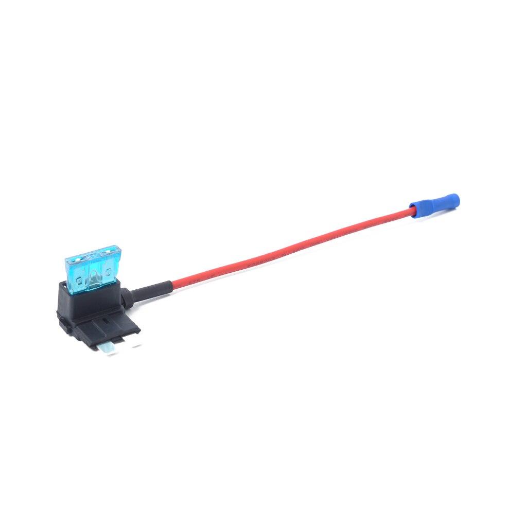 5PCS/Set 12V Medium Size Car Add-a-circuit Low Profile Fuse Tap Adapter Fuse Holder Cigarette Lighter Added Tool Kits