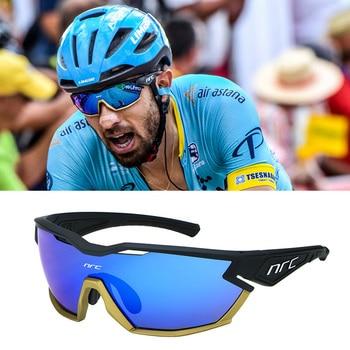 brand 2019 NRC P-Ride Photochromic Cycling Glasses man Mountain Bike Bicycle Sport Cycling Sunglasse
