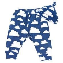 Зимние теплые бархатные комплекты со штанами леггинсы для новорожденных