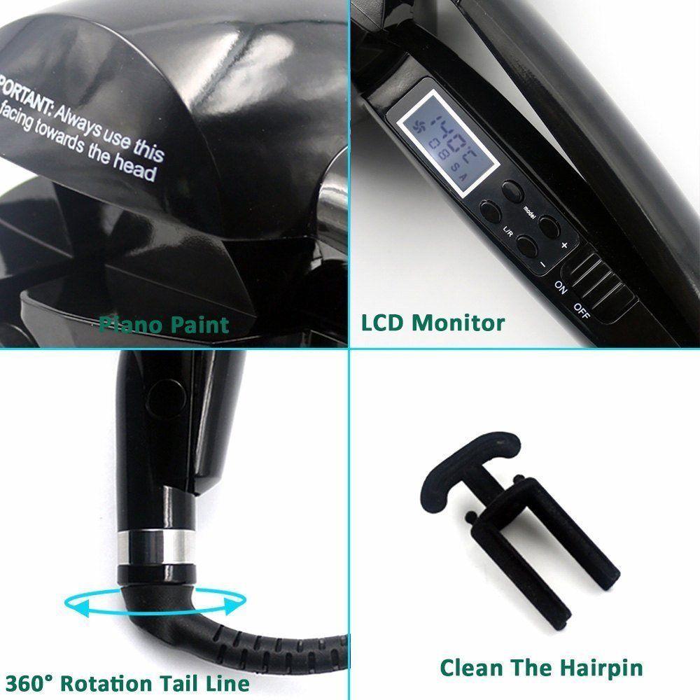Pro Avtomatska pločevina Titan LED kodralniki za lase Perm Curl Hair - Nega las in styling - Fotografija 6
