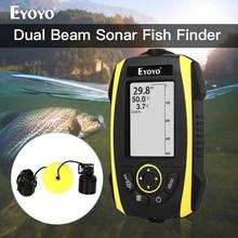 Eyoyo E4 Fish Finder Portable Sonar Sensor Transducer Detector FishFinder For fishing segnalatori acustici pesca sondeur peche