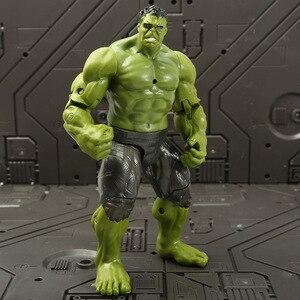 18cm Hulking Action Figures Marvel Avenger Super Heroes Captain America Iron Man Doll Kids Christmas Gifts Boys Toys