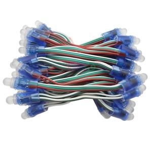 Image 1 - 1000 قطعة WS2811 IC RGB بكسل LED مصابيح إضاءة وحدة كامل اللون وحدات مصباح عظيم للزينة الإعلان أضواء DC5V/12 فولت