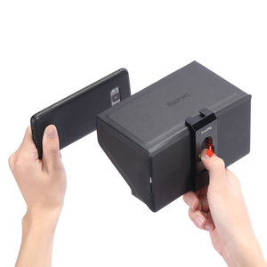 Image 3 - SmallRig смартфон Солнцезащитная бленда (маленький) Мобильный телефон Защита от солнца капот камера монитор экран ЖК капот для видео Поддержка Rig   2689