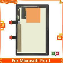 Wyświetlacz LCD dla microsoft surface Pro 1 ekran dotykowy panel digitizera wymiana LCD części dla microsoft surface Pro 1 1514 tanie tanio fix2sailing Tablet lcd CN (pochodzenie) 10 ~ 13 cal For Microsoft Surface Pro 1 Pojemnościowy ekran 100 One by one Tested Before shiping