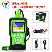 Neueste JDiag V600B Volle System 3 in 1 Diagnose Analyzer JDIAG v600b 3 in 1 Diagnose OBD2 Scanner Tool