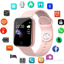 Fashion LED Wrist Watch Kids Fitness Tracker Color Screen Watches