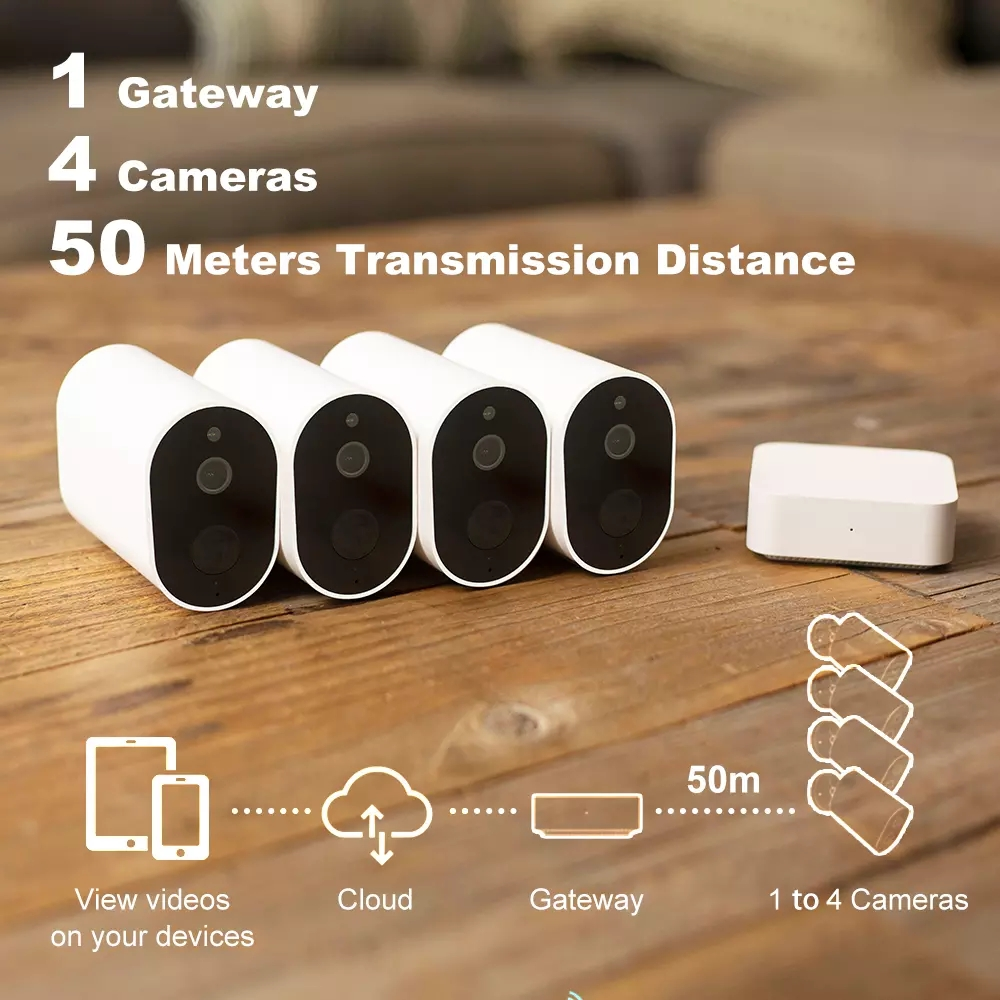 IMILAB EC2 Wire Free Mi Home Security Camera Gateway 1080P Wifi Camera With 5100mAh Battery Outdoor Ip Vedio Surveillance Camera