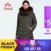 Astrid 2019 hiver nouveauté doudoune femmes avec un col en fourrure vêtements amples vêtements d'extérieur qualité femmes hiver manteau FR-2160 1