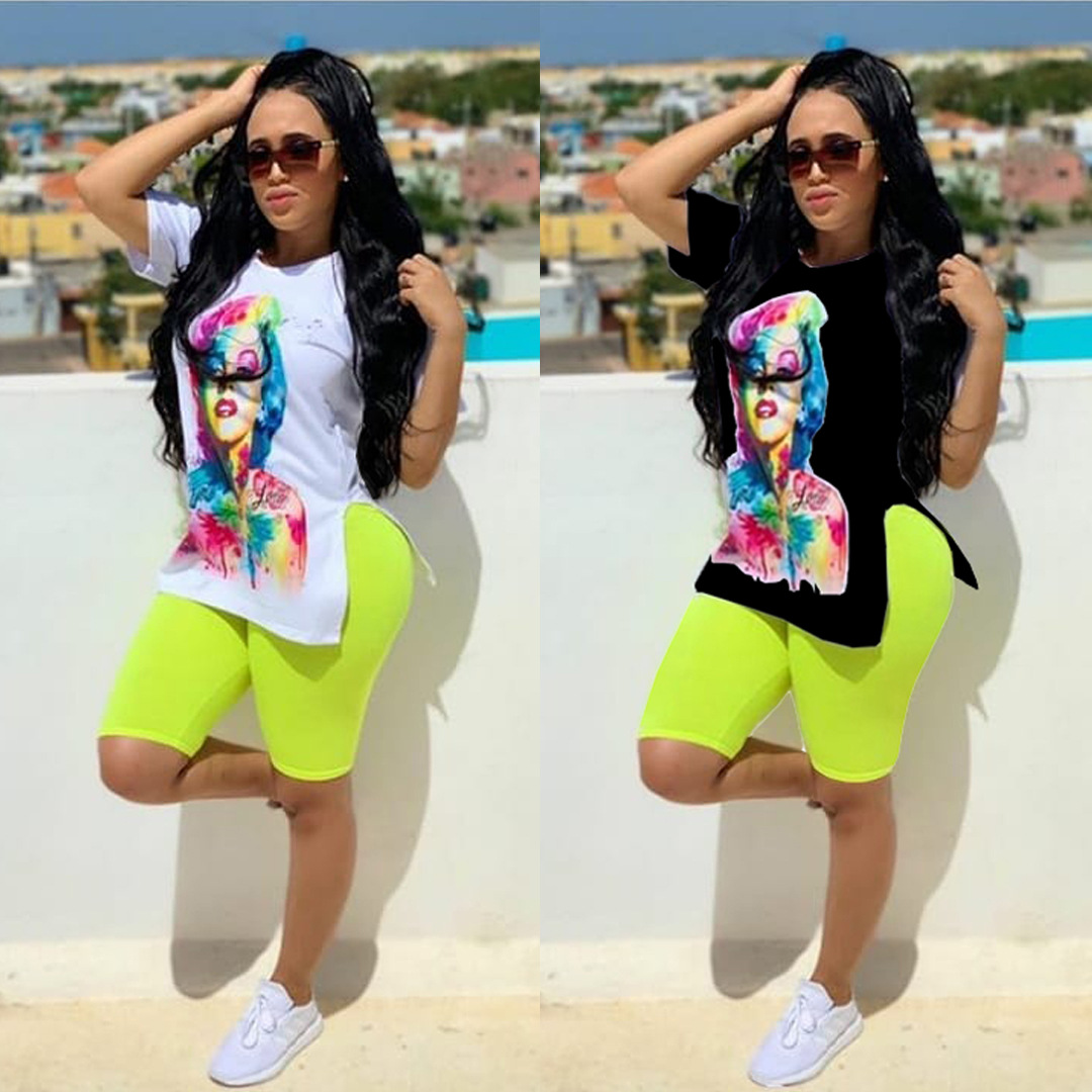 African Sets For Women New African Elastic Bazin Baggy Pants Rock Style Dashiki Short Sleeve Famous Suit Lady Africa Clothing