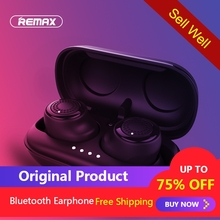 Remax TWS-2 Wireless Headset Bluetooth Earpieces Earbuds Twins Headphone With Charging Box Earphones Better than For Xiaomi