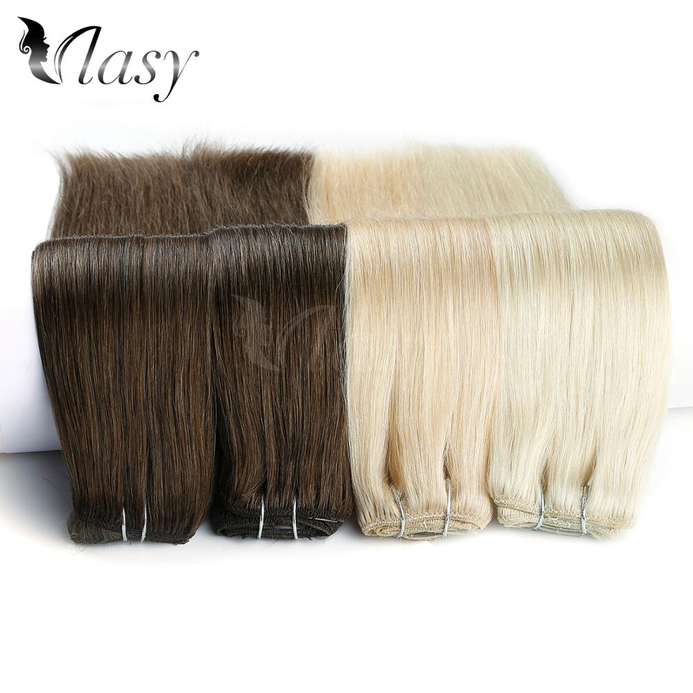Vlasy 20'' 7pcs/set Remy Clip On Extensions Seamless Straight Double Drawn Clip In Human Hair Extensions 130g/pc 16 Clips