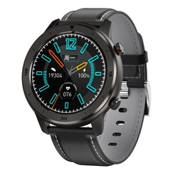 JABS DT78 inteligentny zegarek mężczyźni IP68 wodoodporna 1.3 Cal w pełni z okrągłych naciśnij ekran tętno ciśnienie krwi tlen inteligentny zegarek do monitorowania|Inteligentne zegarki|   -
