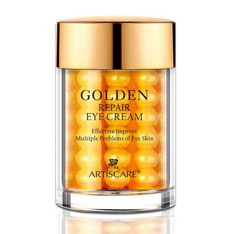 24K Golden Eye Cream Anti-Aging Lower Eyelid Skin Care Eyes Firming Gel Remove Eye Bag Black Eye