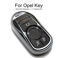 TPU Protection Car Key Cover Case Cap For Opel Astra K Mokka Antara Signum Zafira A Meriva Combo C Key Chain Ring Accessories