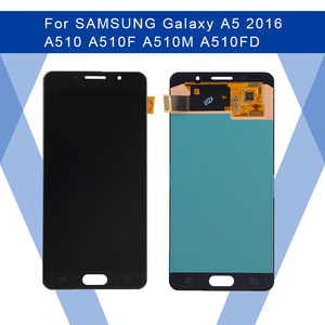 Image 1 - For SAMSUNG Galaxy A5 2016 A510 LCD AMOLED screen Display Screen+Touch Panel Digitizer Assembly For SAMSUNG Display Original