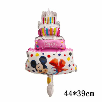 Giant Mickey Minnie Mouse Balloons Disney cartoon Foil Balloon Baby Shower Birthday Party Decorations Kids Classic Toys Gifts 6