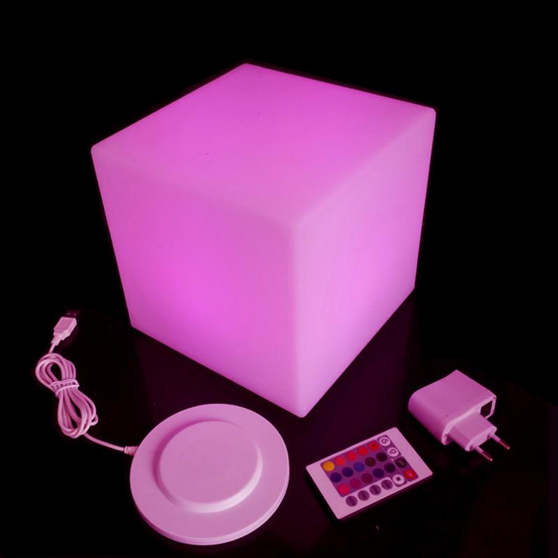 D20cm Luminated LED Cube Стул мини светодиодный - Мебель - Фотография 2