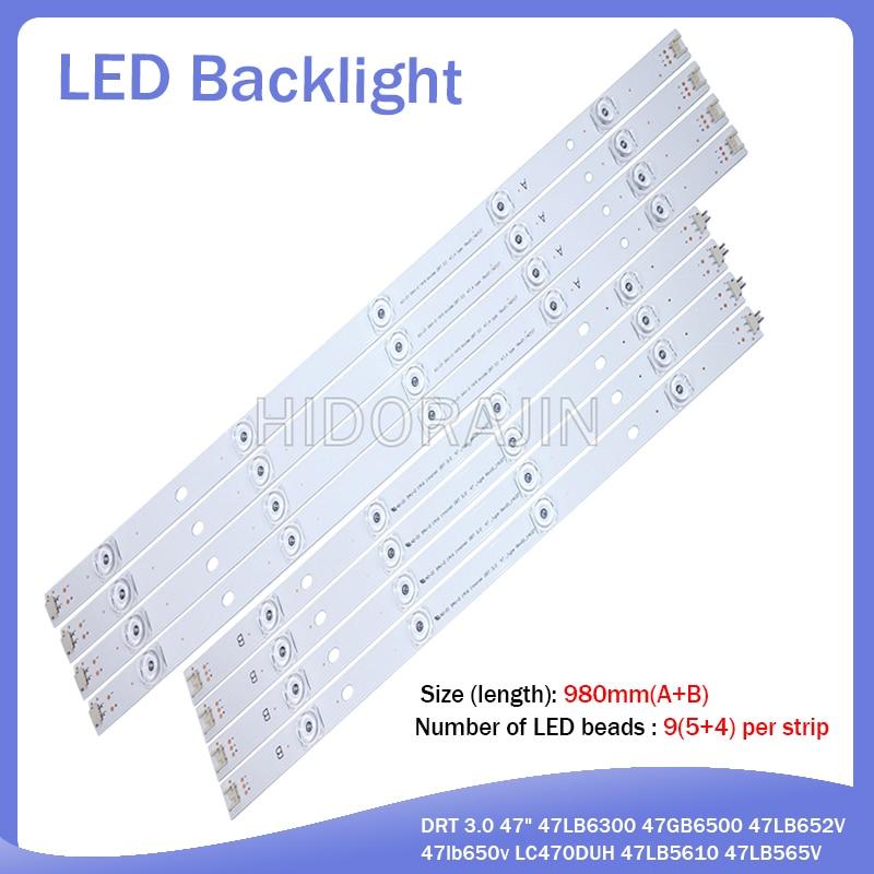 LED Backlight Strip 9 Lamp For LG 47