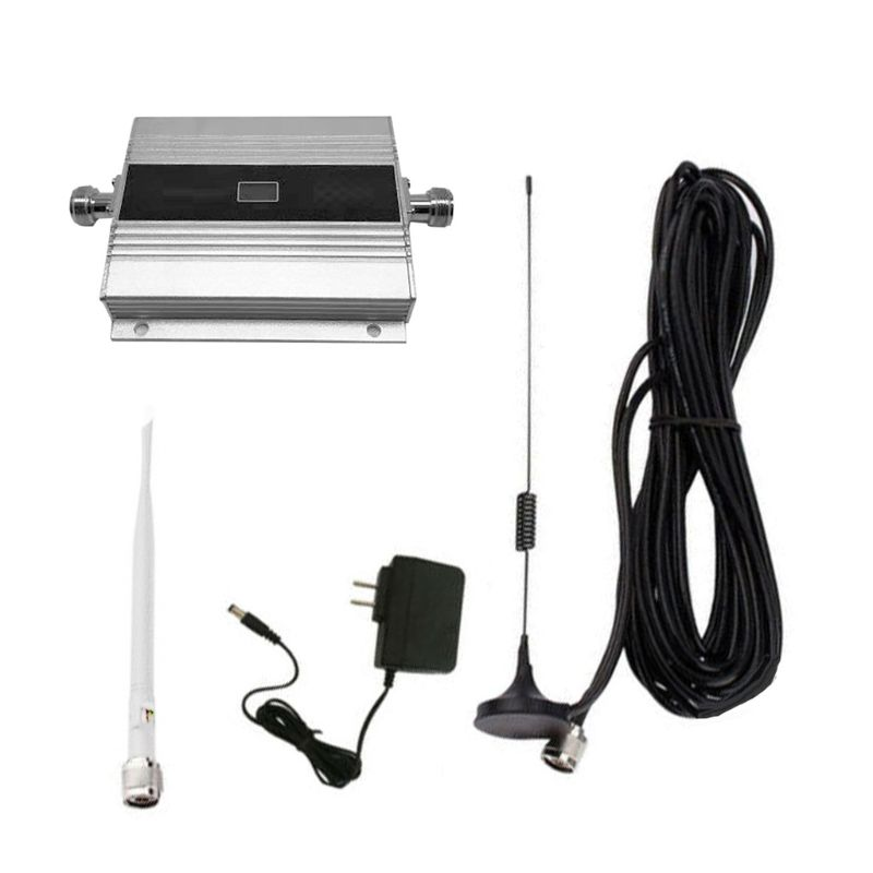 US Plug 900Mhz GSM 2G/3G/4G Signal Booster Repeater Amplifier Antenna For Mobile Phone